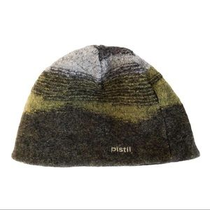 PISTIL 100% Wool Winter Beanie Hat Made in Italy